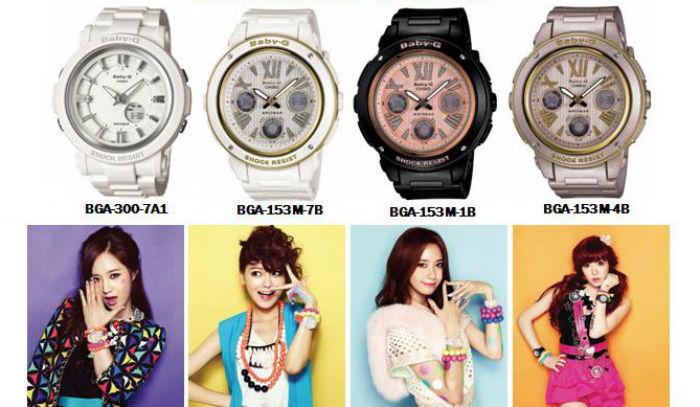 4 bạn trẻ hi vọng mua đồng hồ baby-g giá rẻ nhất