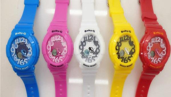 các loại đồng hồ baby g nhái vòng quanh thị trường 1