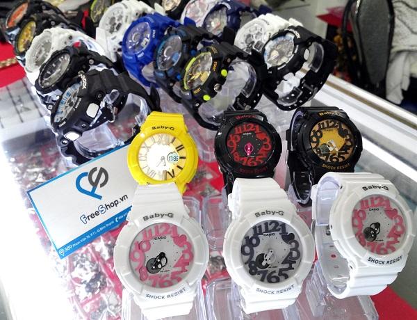 các loại đồng hồ baby-g nhái vòng quanh thị trường 2