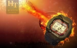 đồng hồ G Shock năng lượng mặt trời dòng G Shock Bảng điều khiển năng lượng mặt trời