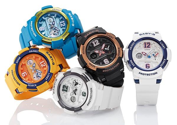 các mẫu đồng hồ baby-g nữ mê hoặc trẻ em 1